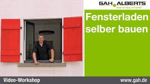 Gah Alberts Fensterladen Selbst Bauen