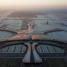 Beijings New 7 Runway Star Shaped Daxing Airport Opened By