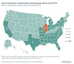 Illinois Ended 2016 With Highest Black Unemployment Rate Of
