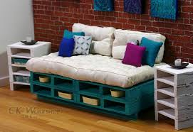 wood pallet furniture. Turquoise Couch Wood Pallet Furniture R
