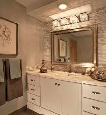 give star for nice bathroom lighting fixtures with beautiful large rectangular mirror photos above