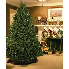 12 Ft Noble Fir Pre-Lit Artificial Christmas Tree