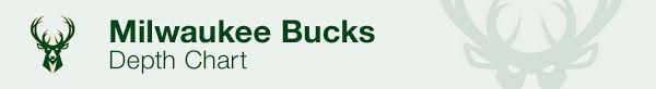 Milwaukee Bucks Depth Chart 2019 Milwaukee Bucks Depth Chart Live Updates