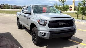 2017 Toyota Tundra Crew Max TRD Pro in Cement - YouTube