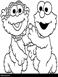 Free Sesame Street Coloring Pages Sesame Street Coloring Pages Free
