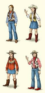 simple cowgirl outfit clothes shoes