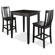 table 2 chairs. table and 2 chairs - black. hover to zoom t