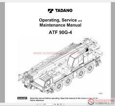 Tadano Mobile Crane Full Shop Manual Dvd Auto Repair