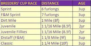 2014 Breeders Cup Charts Breeders Cup 2014 Navigating The Santa Anita Dirt Track