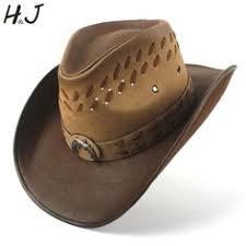 <b>Fibonacci</b> 2018 New <b>Top Quality</b> West Cowboy Hat <b>Fashion</b> Faux ...