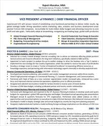Chief Financial Officer Resumes 23 Finance Resume Templates Pdf Doc Free Premium Templates
