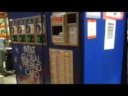 AtT Vending Machines Interesting 48 ATT Phone Card Vending Machines On GovLiquidation YouTube