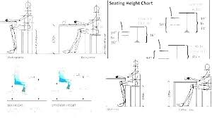 Bar Stool Size Chart Bar Stool Dimension Counter Height Stools Dimensions Ht Size