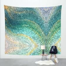 artistic shower curtains. Interesting Shower Artistic Shower Curtains Mermaid Curtain Mermaids  Tail Teal Aqua Blue Ocean Waves Mosaic   With Artistic Shower Curtains