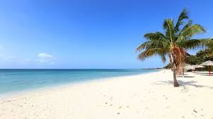 beach. Delighful Beach A Picturesque Beach In La Boca Cuba On Beach