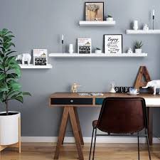 wall shelf white floating shelf ledge