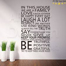 art new design home decor vinyl english house rules words wall decals removable room decoration family on house rules wall art suppliers with art new design home decor vinyl english house rules words wall