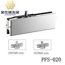 pfs 020 top corner steel patch fitting glass clamp for frameless glass door