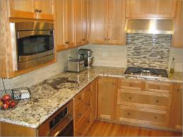 glass tile backsplash ideas for granite countertops