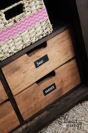 Free Plans To Build A Drawer Insert For An Armoire From AnaWhitecom White With Drawers43
