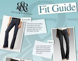 Rock And Republic Jeans Size Chart New Denim Fit Guides For Rock Republic Seven And More