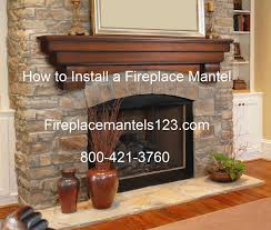 Simple How To Install A Mantel Shelf On A Brick Fireplace Interior ...