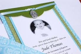 Catholic Baptism Invitations The Clay Rosary Girl Making Catholic Baptism Invites