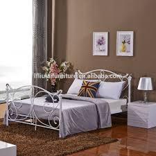 Metal Bedroom Furniture Set Furniture King Size Double Bed Frame Designmetal Bed Room
