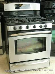 ge profile double oven. GE Profile 5 Burner [GAS] Convection Double Oven Range (Stainless/Black) Ge G