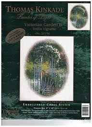 Victorian Garden Designs Best Thomas Kinkade Painter Of Light Victorian Garden II Trellis Vignette