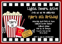 Movie Night Invitation Templates Movie Invite Rome Fontanacountryinn Com