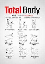 no equipment total body workout