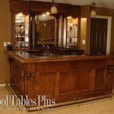 Custom home bar furniture Corner The Tobacco Road Custom Bar Pool Tables Plus Custom Home Bars