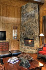 corner fireplace ideas family room rustic with high ceilings country corner fireplace ideas in stone corner fireplace design ideas with stone