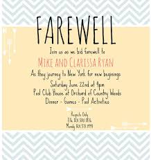 Farewell Invitation on Pinterest   Saying Goodbye, Going Away ...