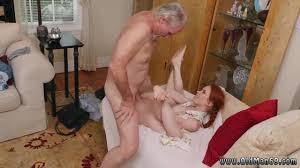 Online video old women porn