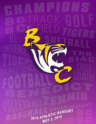 Athleticbanquet2016 by BenedictCollege Tigers - issuu