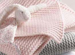 Easy Baby Blanket Knitting Patterns For Beginners Impressive Baby Blanket Knitting Pattern For Beginners Easy Baby Crib Etsy