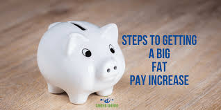 steps to getting a big fat pay increase career sherpa one reason you want to change jobs is to land a big fat pay increase right well be be not before you begin searching the job boards or apply for
