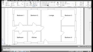 nobby design floor plan in autocad 12 autocad bungalow timelapse floor plan on modern decor ideas