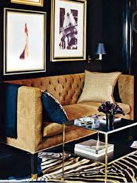 navy blue living room. Navy Blue Living Room Gold Framed Art And Tables Accessories