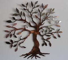 Bronze Wall Decor Olive Tree Tree Of Life Metal Wall Art Decor Trees Sculpture