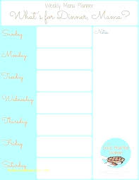 free menu planner menu calendar template weekly menu planner template awesome menu