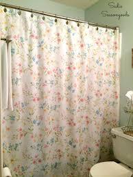 vintage shower curtain. Vintage Bed Sheet Shower Curtain E