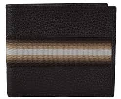 gucci wallet for men. gucci men\u0027s brown calf leather tan cream web stripe bifold wallet apparel queen bee of for men 7