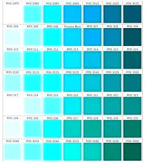 Shades Of Color Blue Chart Shades Of Teal Blue Ganaconganas