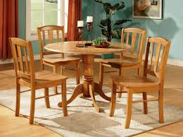Round Kitchen Table Round Kitchen Table And Chairs Wood Friendly Round Kitchen Table