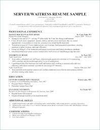 Waitress Skills For Resume Restaurant Waiter Resume Sample Biology Coursework Exemplar Biology