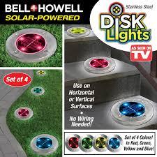 Disk Lights Solar Solar Multicolor Disk Lights 4