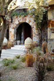stone entrance of chapel